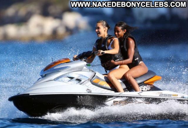 Bikini No Source Posing Hot Bikini Yacht Babe Paparazzi Celebrity