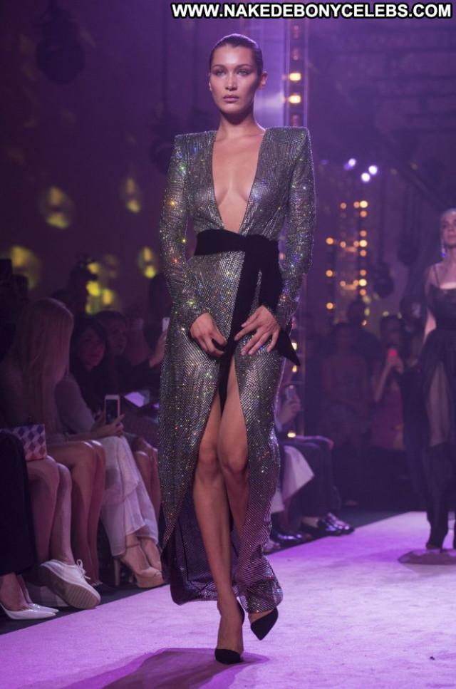 Bella Hadid No Source  Paris Beautiful Babe Paparazzi Celebrity