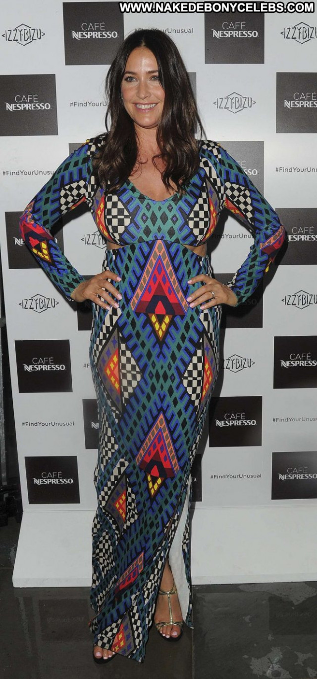 Lisa Snowdon No Source Celebrity Posing Hot London Party Paparazzi