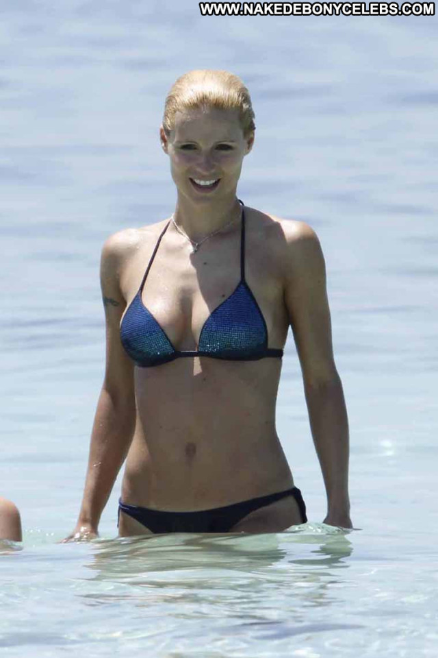Michelle Hunziker The Professional Gay Tv Host Bikini Topless