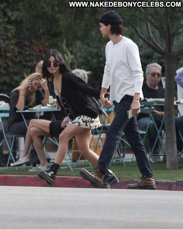 Vanessa Hudgens Los Angeles Paparazzi Beautiful Posing Hot Babe