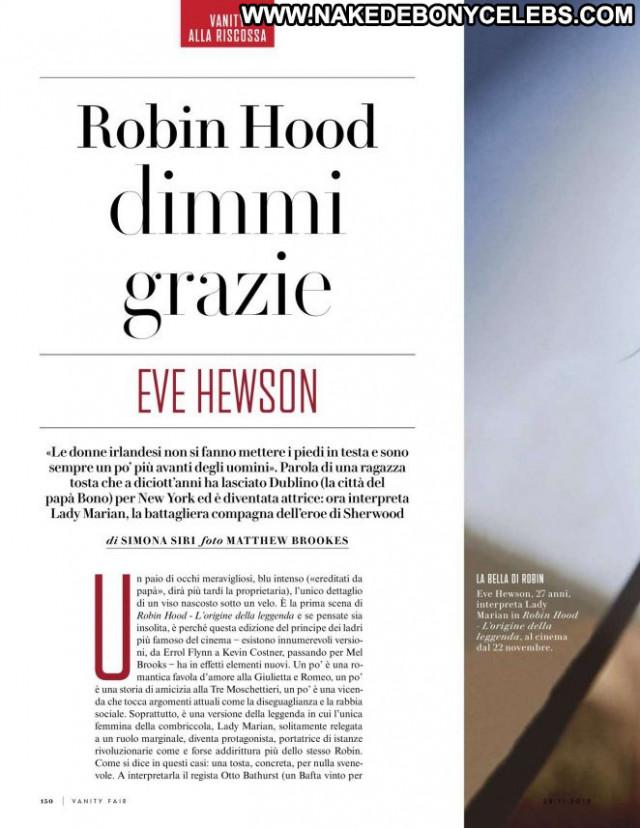 Eve Hewson Vanity Fair Italy Babe Paparazzi Celebrity Magazine Italy