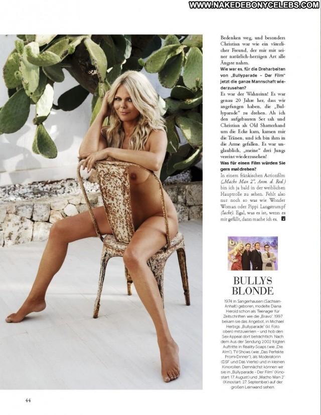 Diana Herold Playboy Germany Beautiful Celebrity Posing Hot Babe