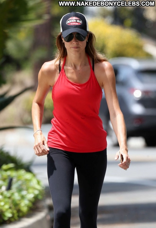 Stacy Keibler Beverly Hills Paparazzi Beautiful Babe Celebrity Posing