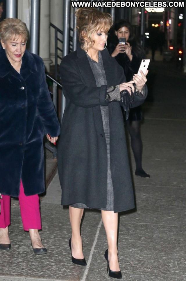 Jennifer Lopez New York  Celebrity Posing Hot Paparazzi Babe