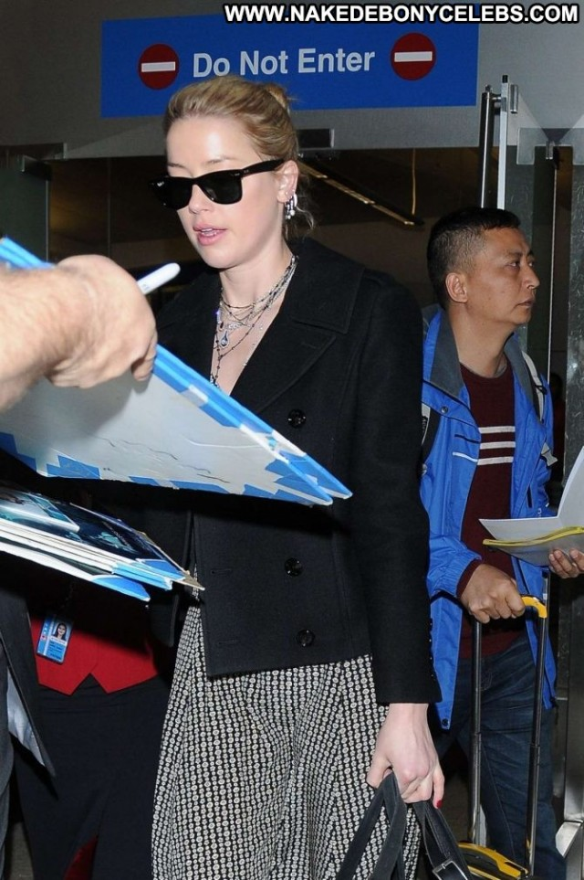Amber Heard No Source Posing Hot Babe Paparazzi International
