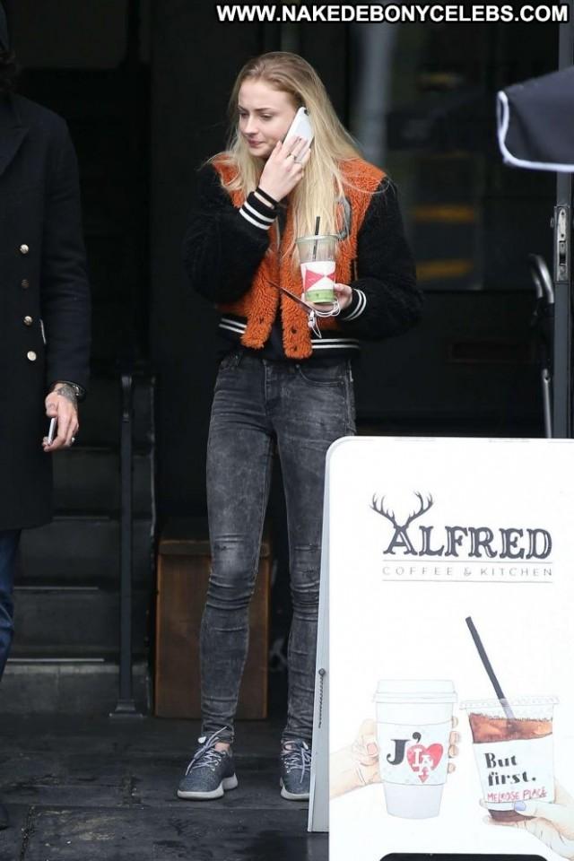 Sophie Turner West Hollywood Posing Hot Celebrity West Hollywood Babe