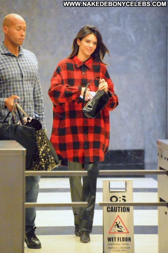 Kendall Jenner New York Beautiful Celebrity Babe Paparazzi New York
