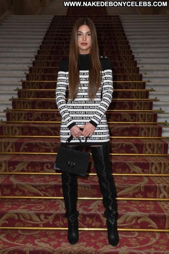 Negin Mirsalehi Fashion Show Beautiful Paris Babe Paparazzi Fashion