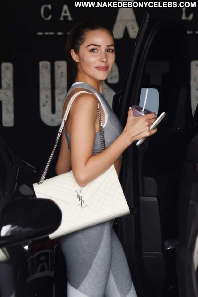 Olivia Culp West Hollywood  Sports Bra Celebrity Paparazzi Babe