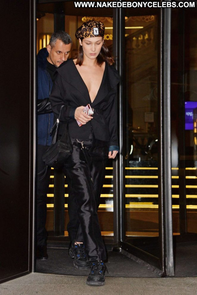 Bella Hadid No Source Babe Celebrity Paparazzi Beautiful Hot Hotel
