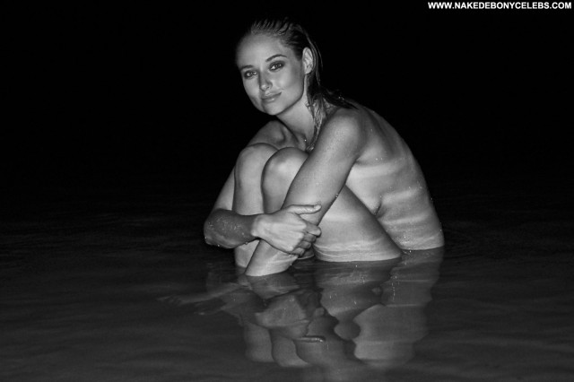 Genevieve Morton Black And White South African Photoshoot Posing Hot