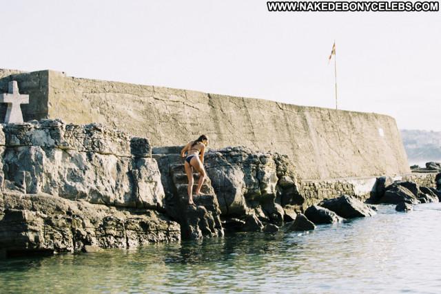 Gabrielle Caunesil Eurvin Swimwear Summer Celebrity Posing Hot