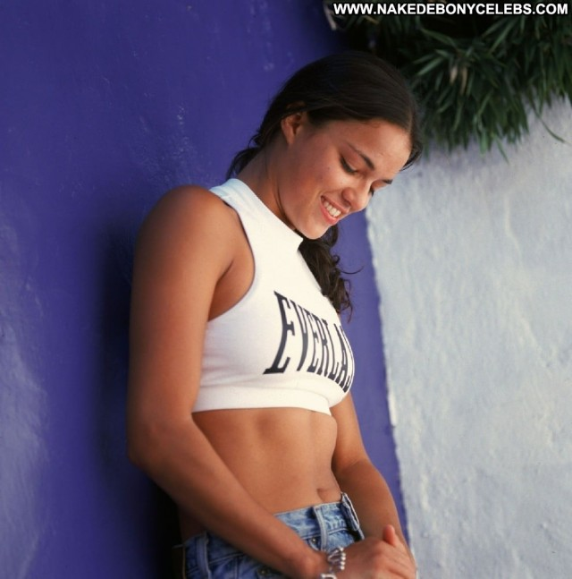 Michelle Rodriguez No Source Posing Hot Babe Beautiful Celebrity